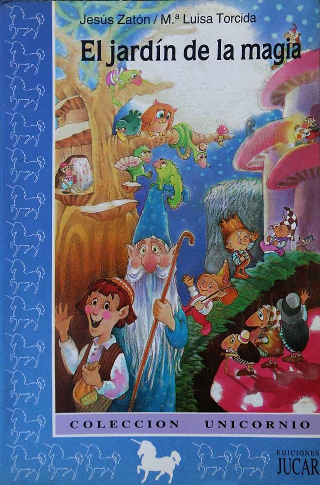 Portada del libro infantil El Jardin de la magia