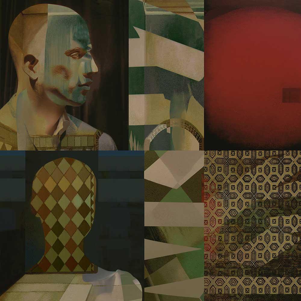 arte digital, cuadro de la serie maniquis, jesús zatón
