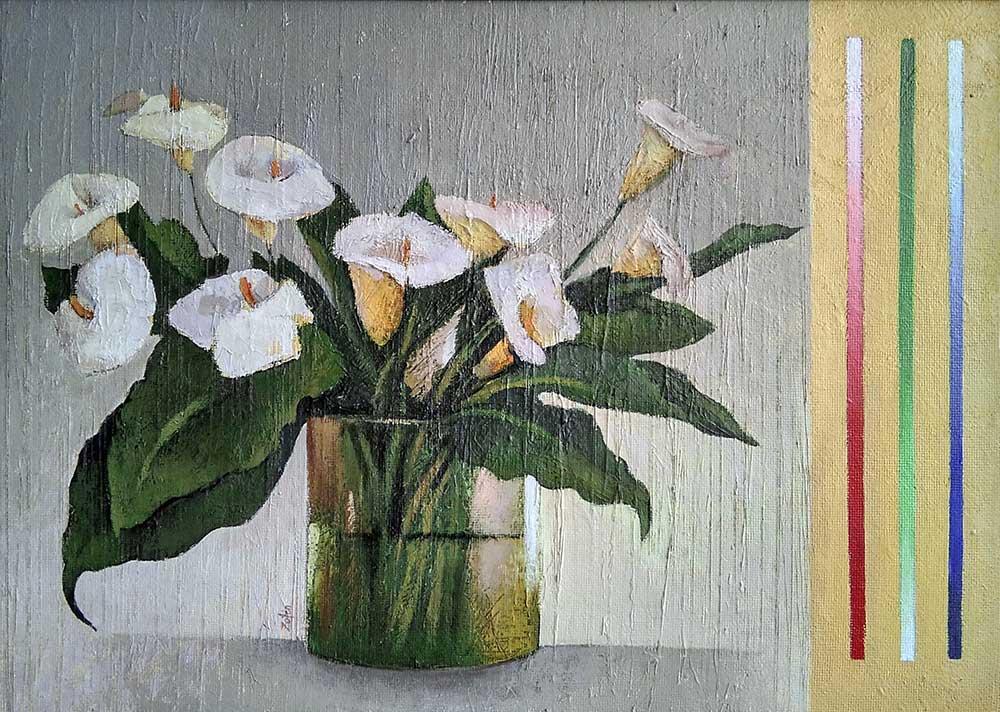 Vaso con flores 2