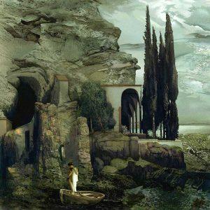 Cuadro el Jardin de Artemisa