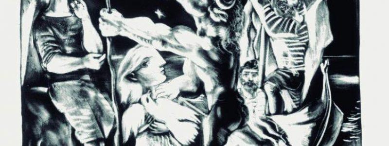 """Minotauro-ciego-guiado-por-una-niña-en-la-noche-""""Suite-Vollard""""-97.-París-noviembre-1934"""